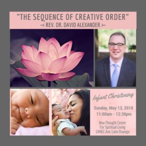 Mother'sDay: The Sequence of Creative Order