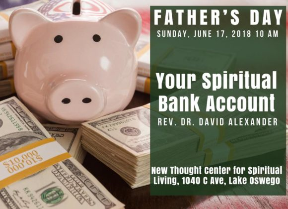 Father's Day: Your Spiritual Bank Account
