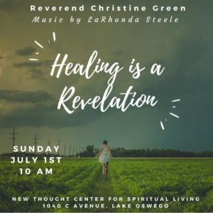 Healing is a Revelation
