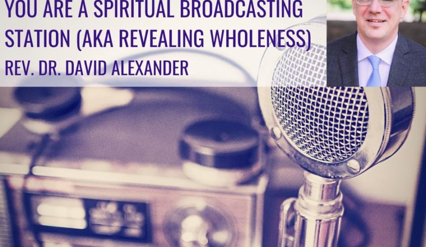 You are a Spiritual Broadcast Station