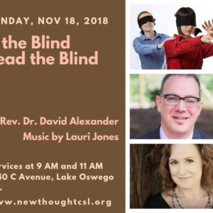 If the Blind lead the Blind