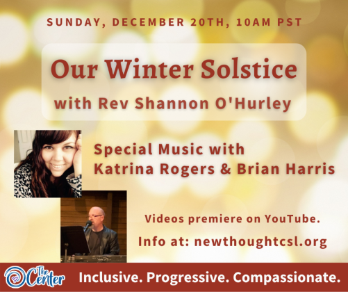 Our Winter Solstice: The Celebration of Life