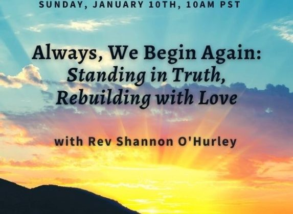 Standing in Truth, Rebuilding with Love