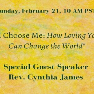I Choose Me: How Loving You Can Change the World